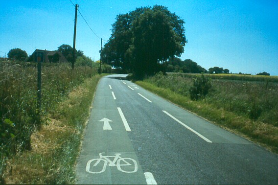 Reminder lanes in Essex