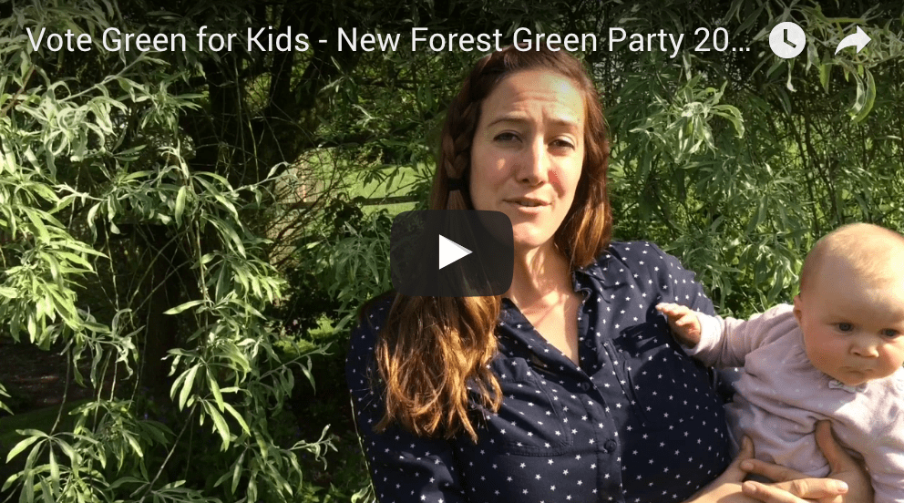 Vote Green for kids