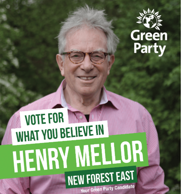 Henry Mellor New Forest Green Party