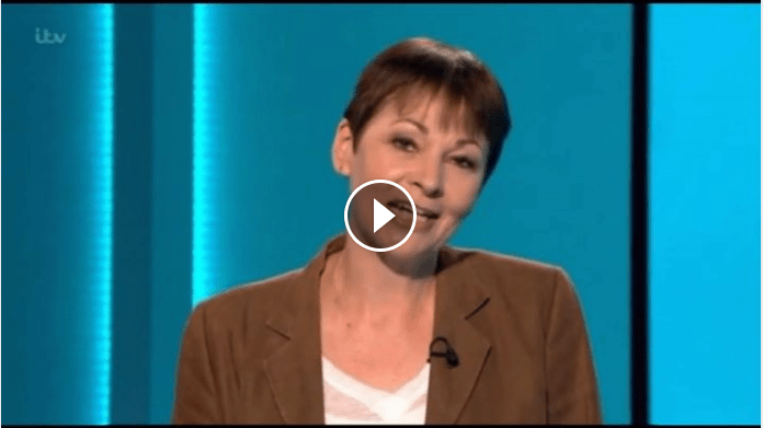 Caroline Lucas - Co-Leader of the Green Party