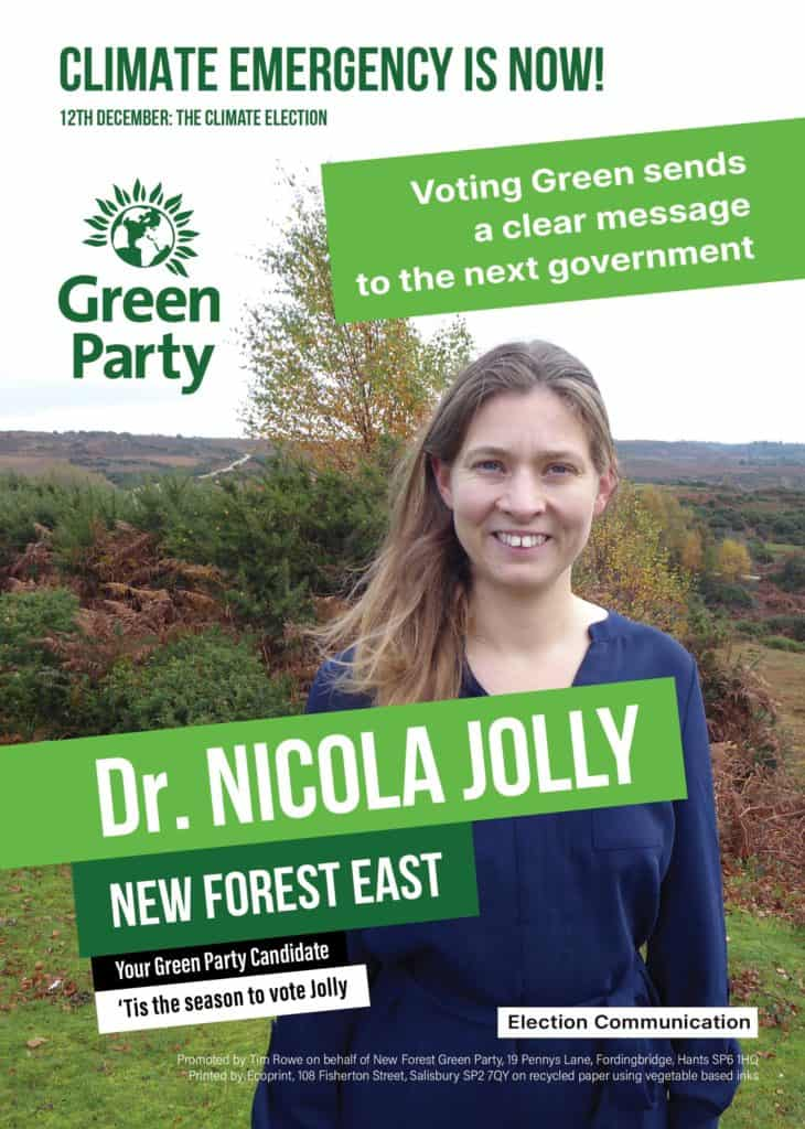 Nicola Jolly Front poster A5