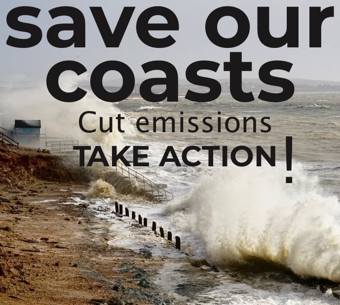 Save our coast image flyer